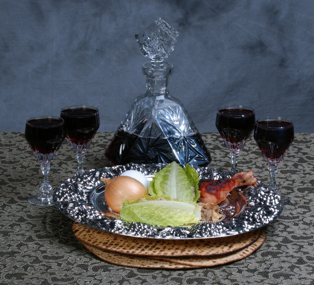 Items for seder night